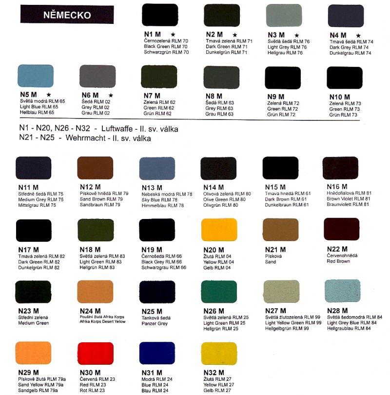 AGAMA-Farben